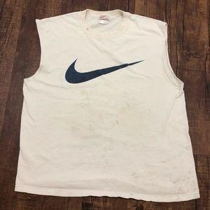 Vintage Nike Flawed Sleeveless Shirt